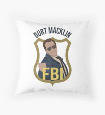 Burt Macklin - Parks and Recreation Throw Pillow