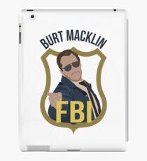 Burt Macklin - Parks and Recreation iPad Case/Skin