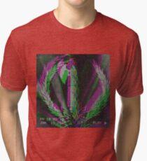 Fasces - Fashwave - Vaporwave Tri-blend T-Shirt