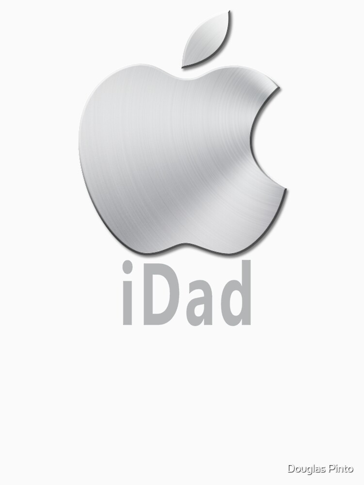 Geek  Funny iDad Iphone T-shirt by douglaspinto