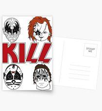 KISS/KILL Postcards