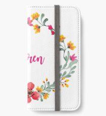 Personalised for Karen iPhone Wallet/Case/Skin