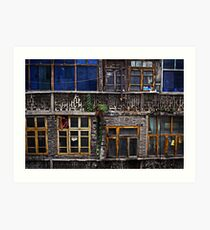 Room with a view ... 5 Art Print