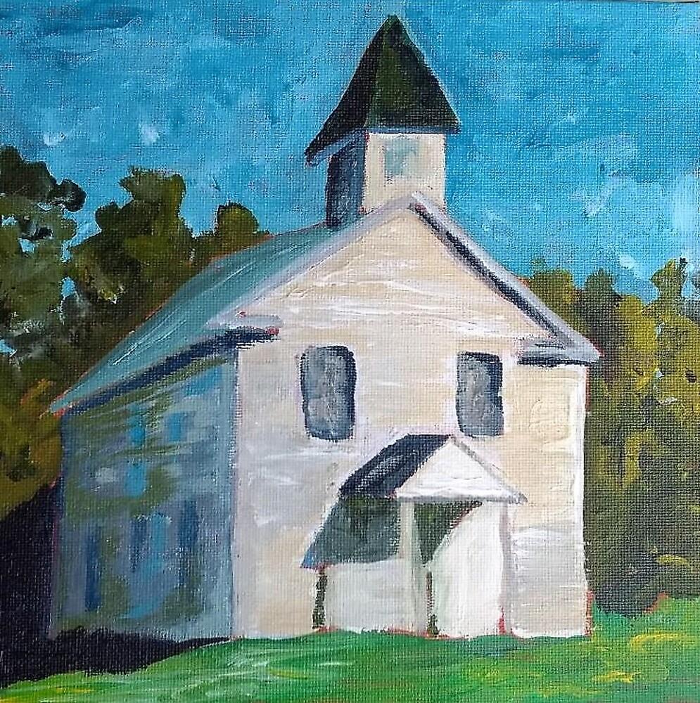 Rural TN Church Series No 12 by Robyn Barber