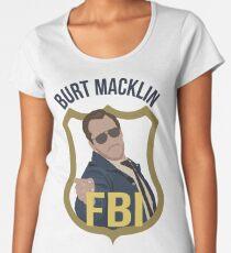 Burt Macklin - Parks and Recreation Women's Premium T-Shirt