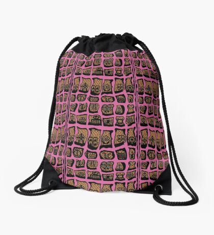 October Is Drawstring Bag