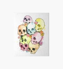 Sweets and Skulls Art Board