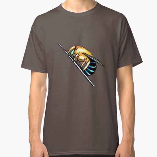 Australian blue banded bee Classic T-Shirt