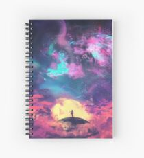 The Speck of Dust Spiral Notebook
