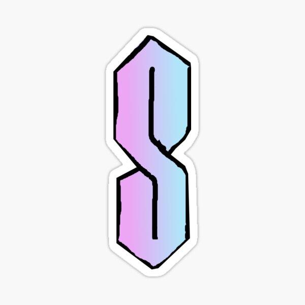 90's S Sticker
