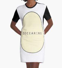DECEARING EGG Graphic T-Shirt Dress