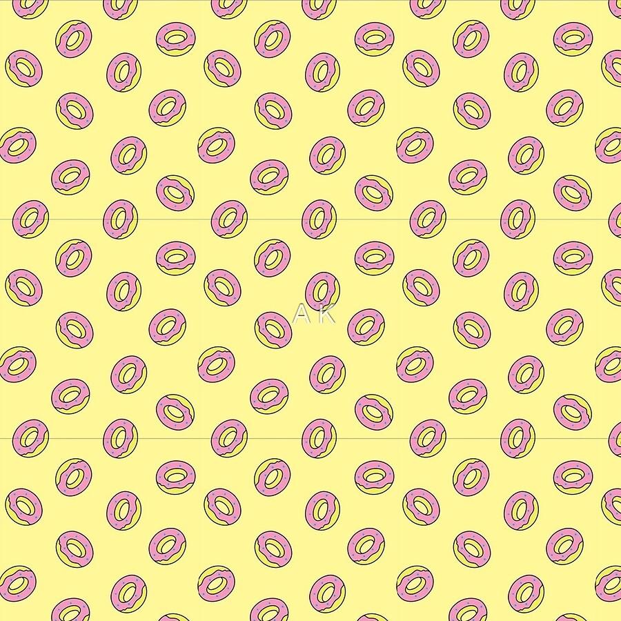 Odd Future Donut Logo Pattern