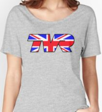 TVR Logo Union Jack Women's Relaxed Fit T-Shirt