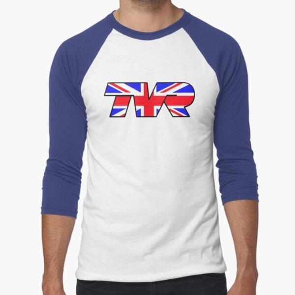 TVR Logo Union Jack Baseball ¾ Sleeve T-Shirt