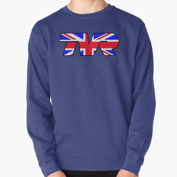 TVR Logo Union Jack Pullover Sweatshirt