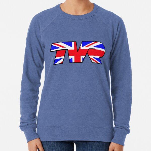 TVR Logo Union Jack Lightweight Sweatshirt