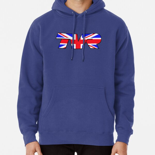 TVR Logo Union Jack Pullover Hoodie