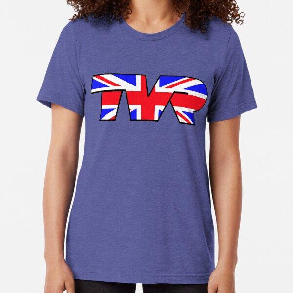TVR Logo Union Jack Tri-blend T-Shirt