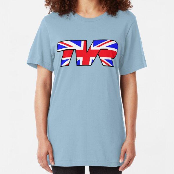 TVR Logo Union Jack Slim Fit T-Shirt