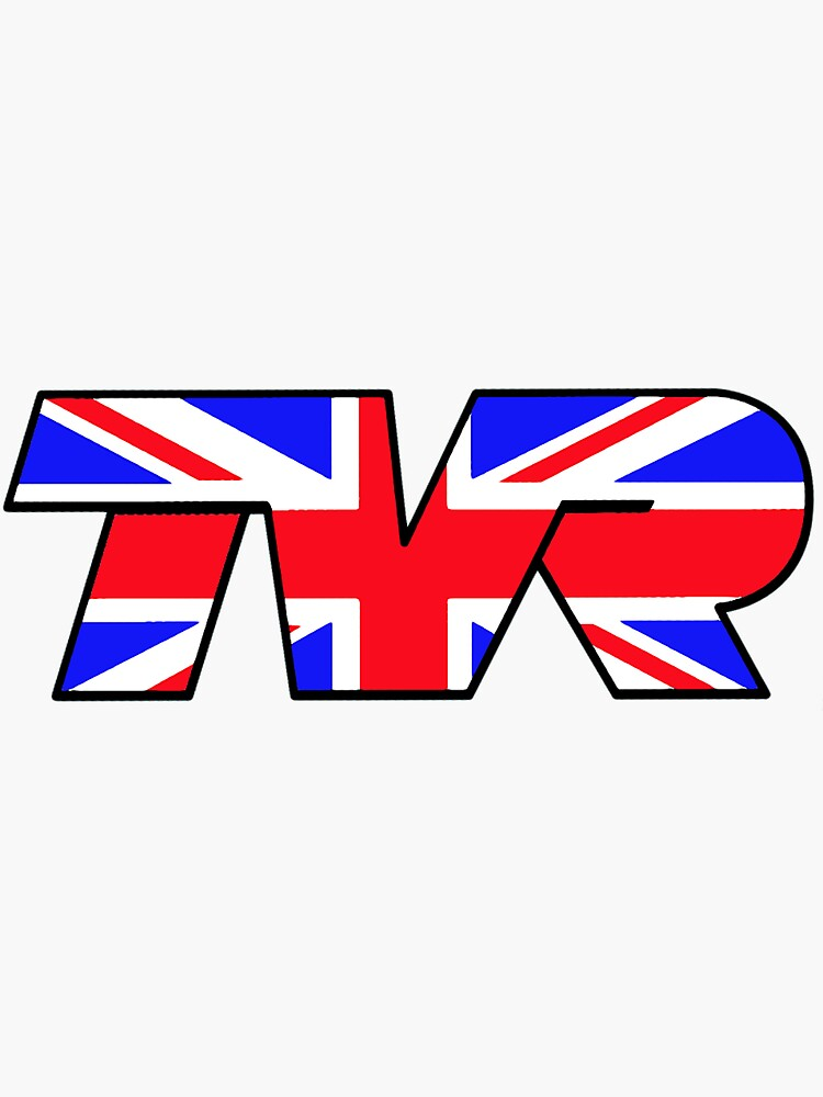 TVR Logo Union Jack by JustBritish