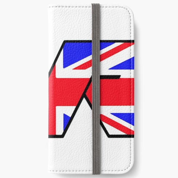 TVR Logo Union Jack iPhone Wallet