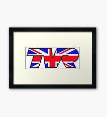 TVR Logo Union Jack Framed Print