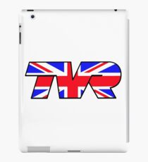 TVR Logo Union Jack iPad Case/Skin