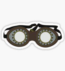 Steam Punk Goggles Sticker