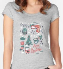 Christmas wishes Women's Fitted Scoop T-Shirt