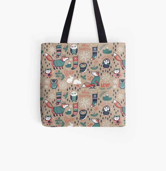 Christmas wishes All Over Print Tote Bag