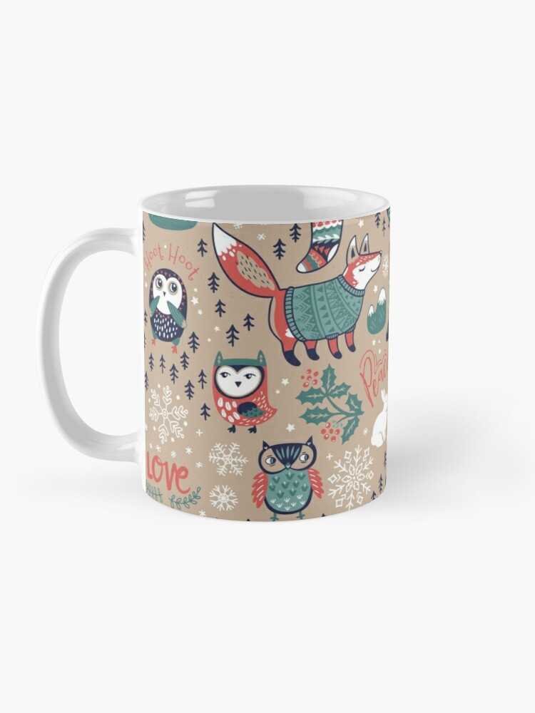 Alternate view of Christmas wishes Mug