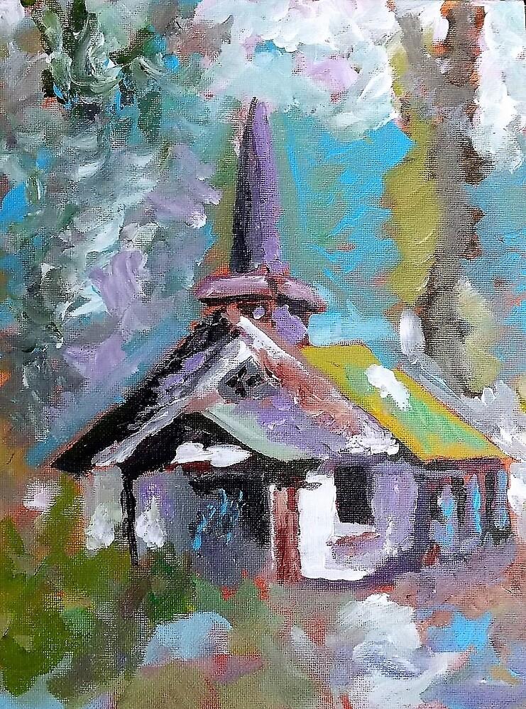 Rural TN Church Series No 15 by Robyn Barber