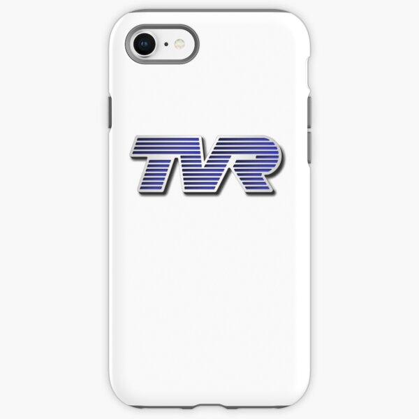 TVR Logo Colorful iPhone Tough Case