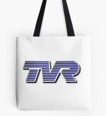 TVR Logo Colorful Tote Bag