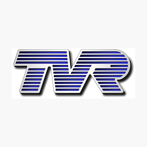 TVR Logo Colorful Photographic Print