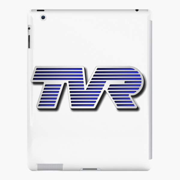 TVR Logo Colorful iPad Snap Case