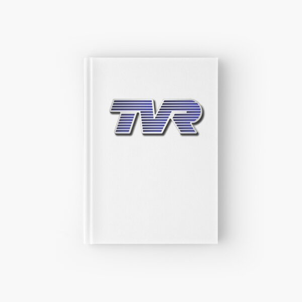 TVR Logo Colorful Hardcover Journal