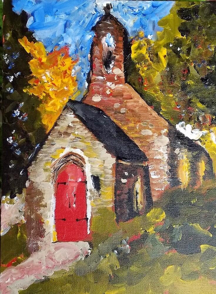 Rural TN Church No 24 by Robyn Barber