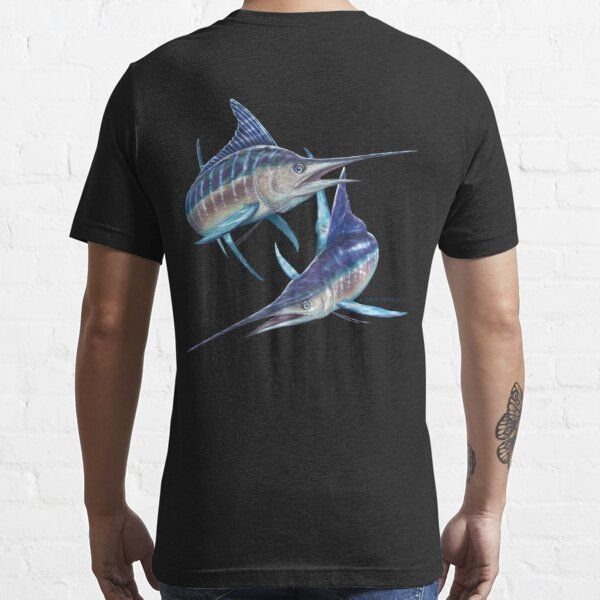 Striped Marlin Essential T-Shirt
