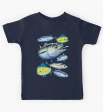 Tuna and Mahi Mahi Kids Clothes