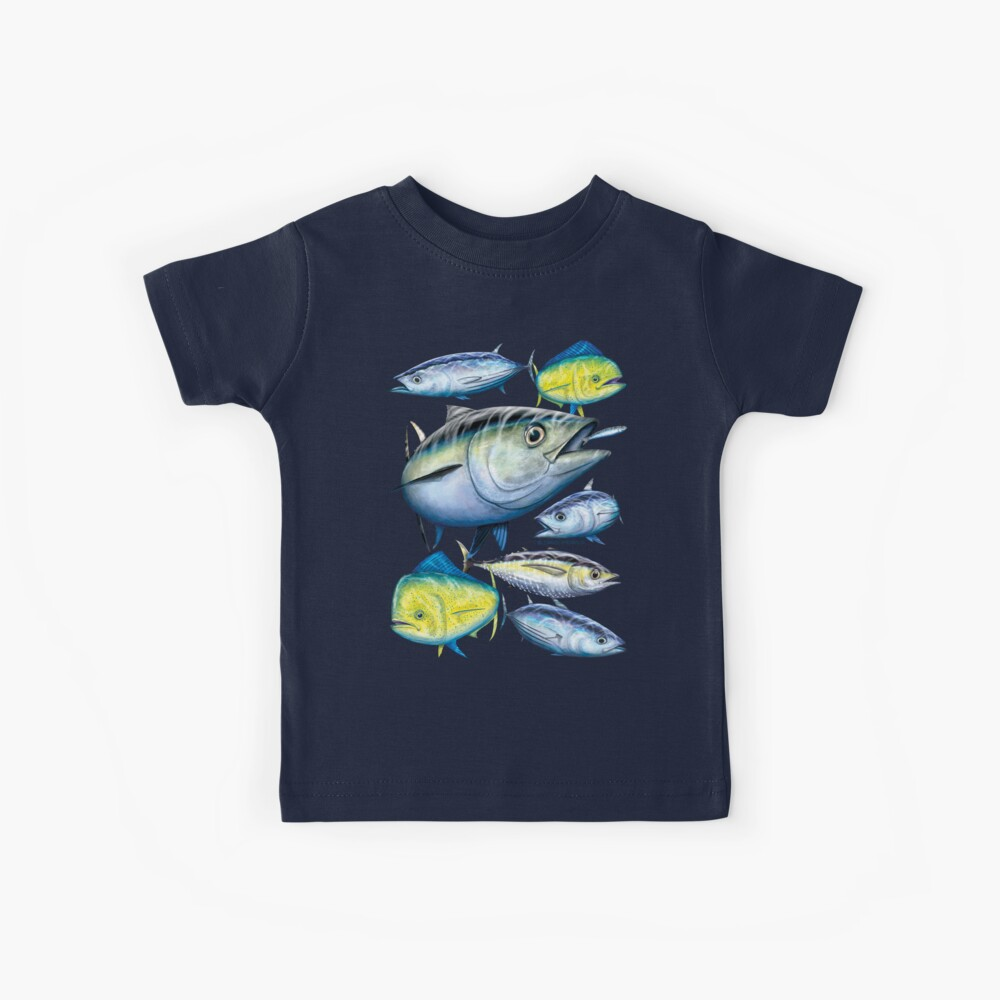 Tuna and Mahi Mahi Kinder T-Shirt