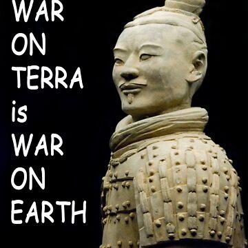 War on Terra is war on earth by clayjars