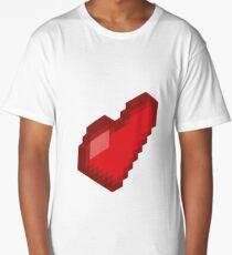 Isometric Heart Long T-Shirt