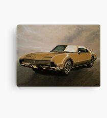 Oldsmobile Toronado Painting Canvas Print
