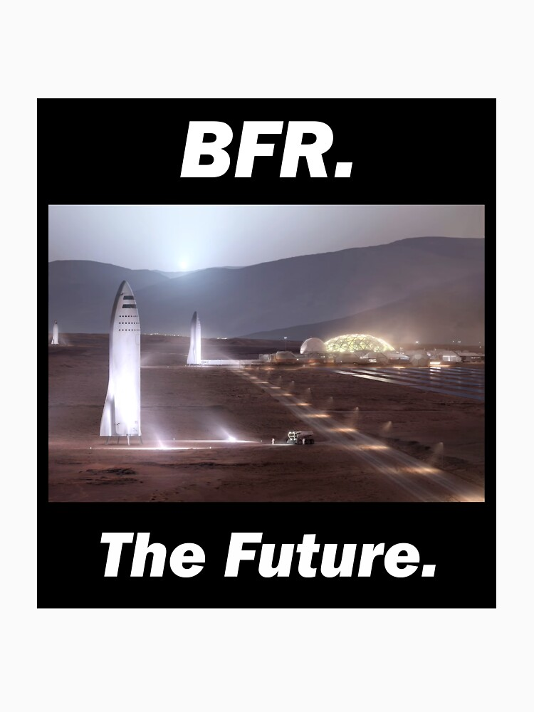 BFR - SpaceX - The Future by VDKPatterns