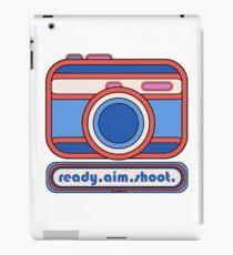Ready Aim Shoot - Camera Design iPad Case/Skin