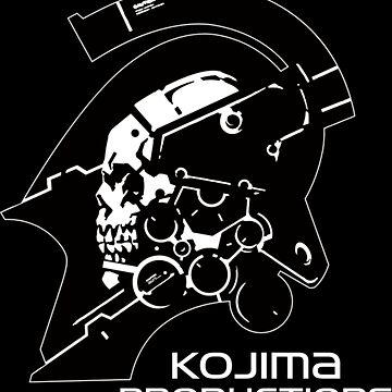 KOJIMA PRODUCTIONS - New Logo - Metal Gear Death Stranding by L1927N