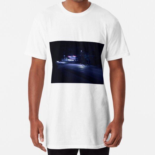 Busy Street, Quiet at Night Long T-Shirt