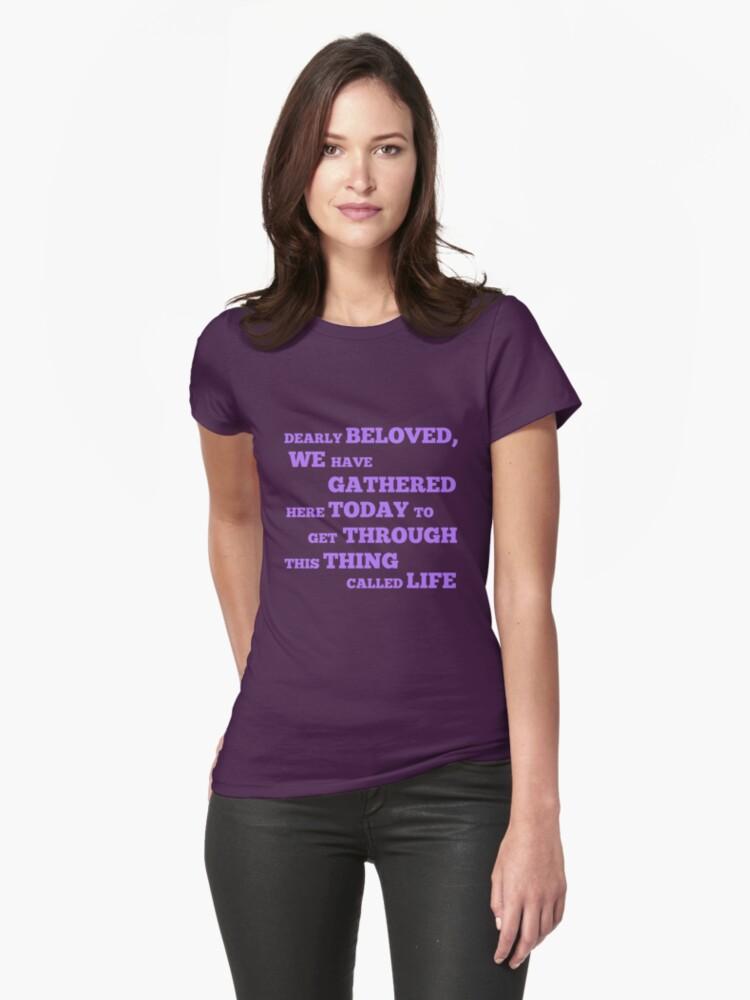 Let's Go Crazy Womens T-Shirt Front