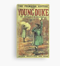 Old Book Covers: Young Duke Canvas Print